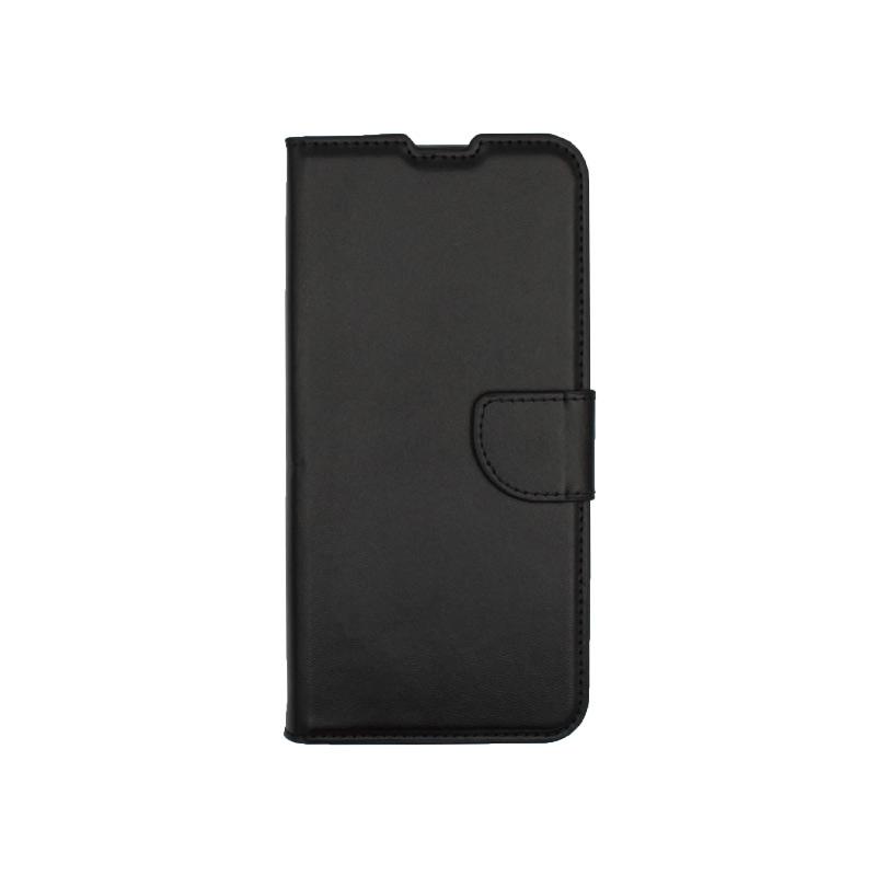 Θήκη Xiaomi Redmi Note 9 πορτοφόλι μαύρο 1