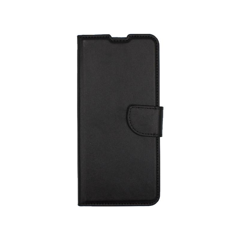 Θήκη Xiaomi Redmi Note 9S / Note 9 Pro / Max πορτοφόλι μαύρο 1