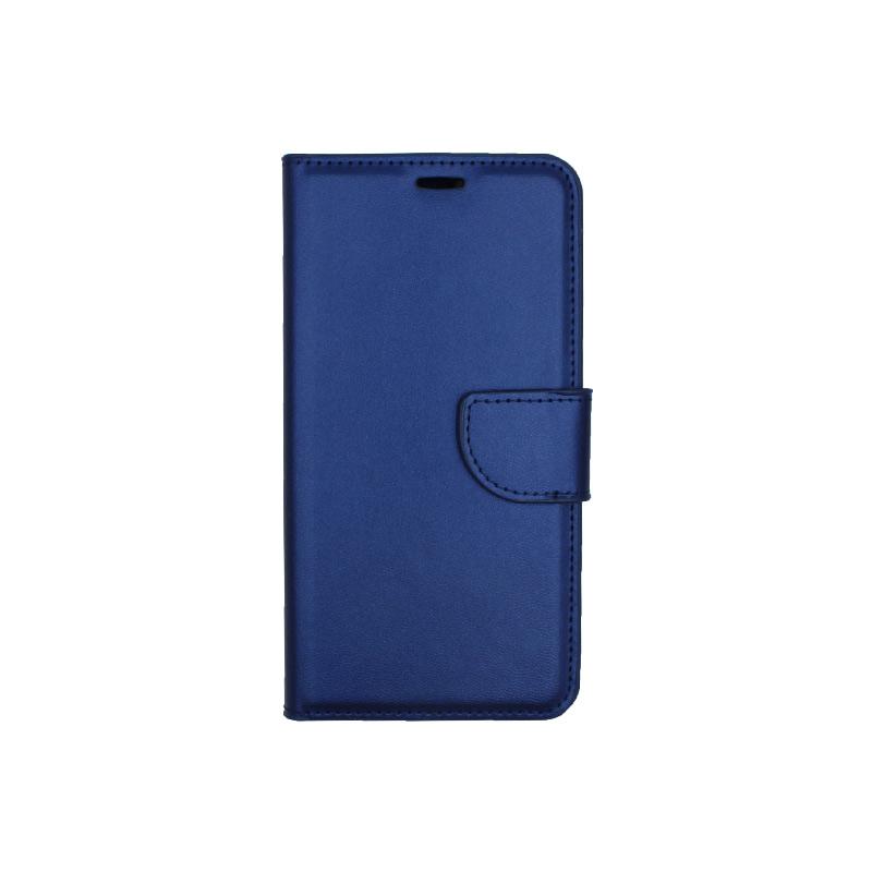 Θήκη Huawei P Smart πορτοφόλι μπλε 1