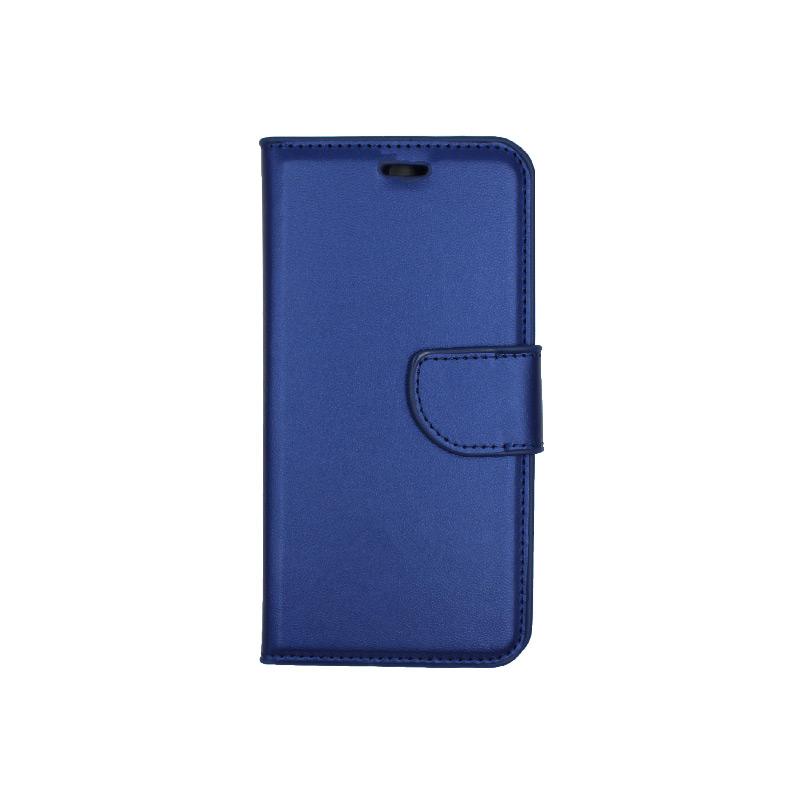 Θήκη Huawei P10 πορτοφόλι μπλε 1