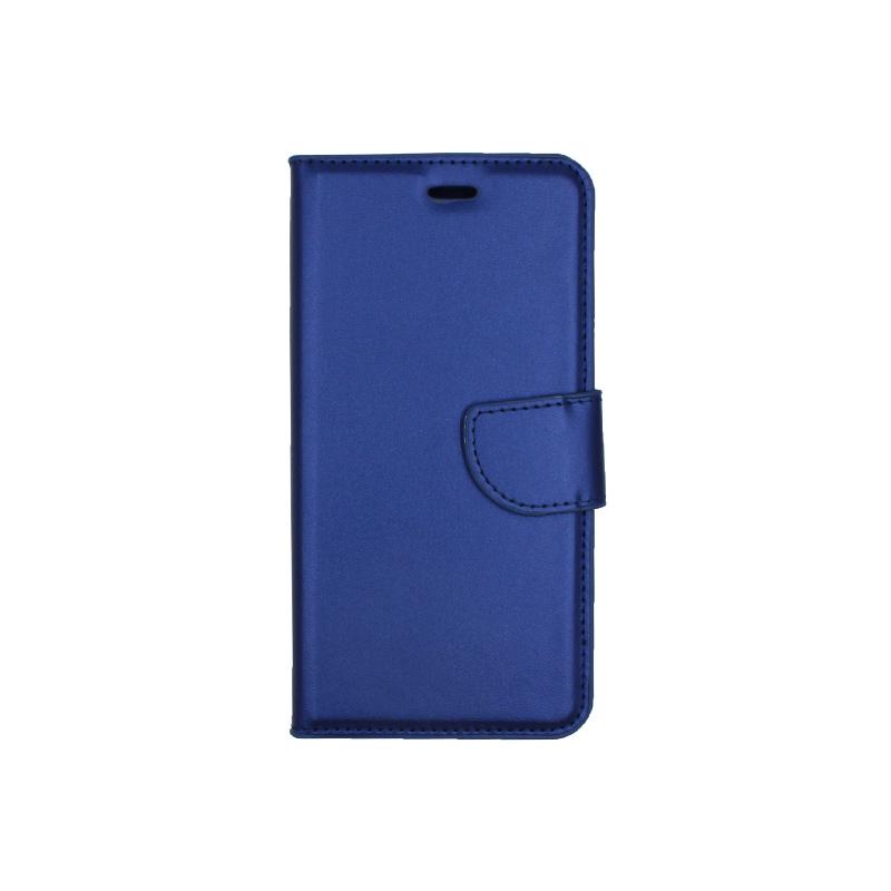 Θήκη Huawei P10 Lite πορτοφόλι μπλε 1