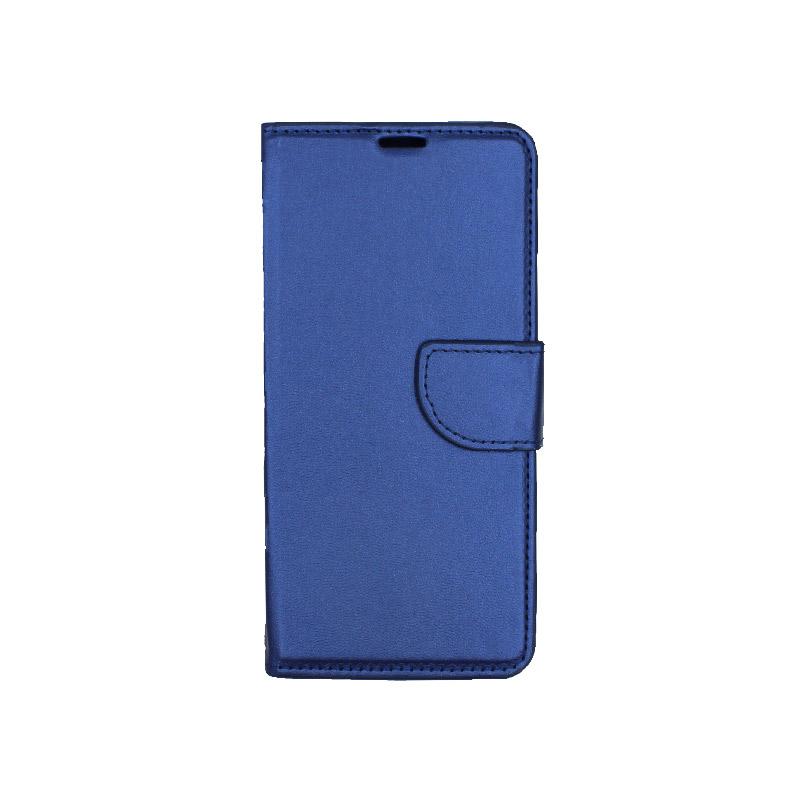 Θήκη Huawei P20 πορτοφόλι μπλε 1