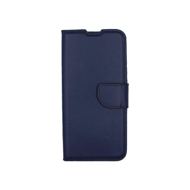 Θήκη Xiaomi Redmi 8 πορτοφόλι μπλε 1