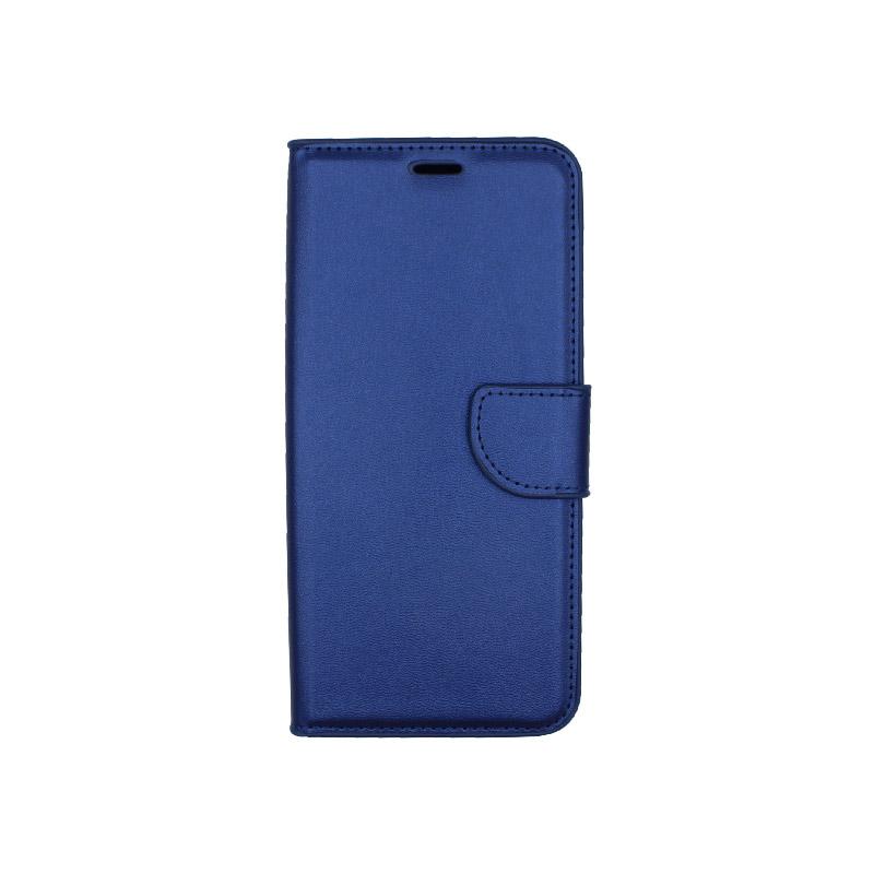 Θήκη Xiaomi Redmi Note 7 / 7 Pro πορτοφόλι μπλε 1