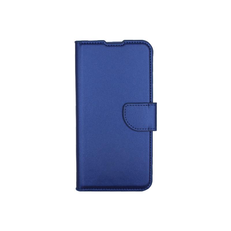 Θήκη Xiaomi Redmi 7 πορτοφόλι μπλε 1