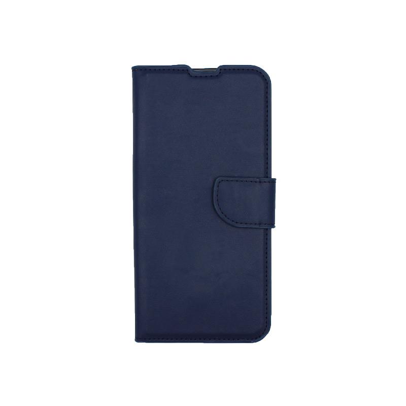 Θήκη Xiaomi Redmi Note 8 Pro πορτοφόλι μπλε 1
