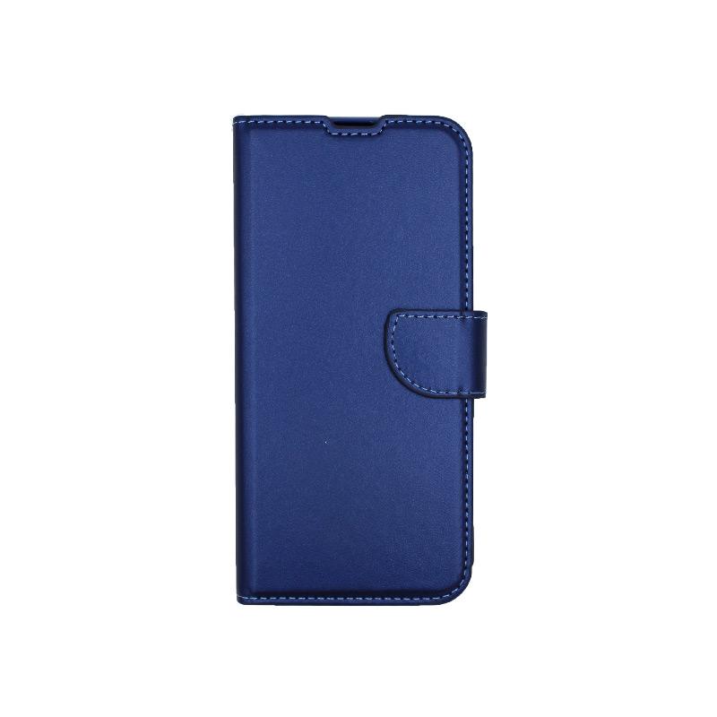 Θήκη Huawei P Smart Pro πορτοφόλι μπλε 1