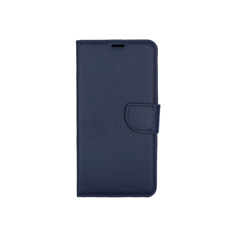 Θήκη Huawei Mate 20 πορτοφόλι μπλε 1