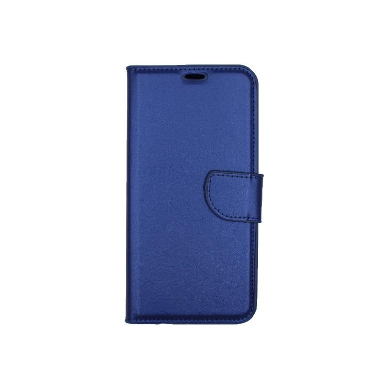 Θήκη Huawei Mate 20 Lite πορτοφόλι μπλε 1