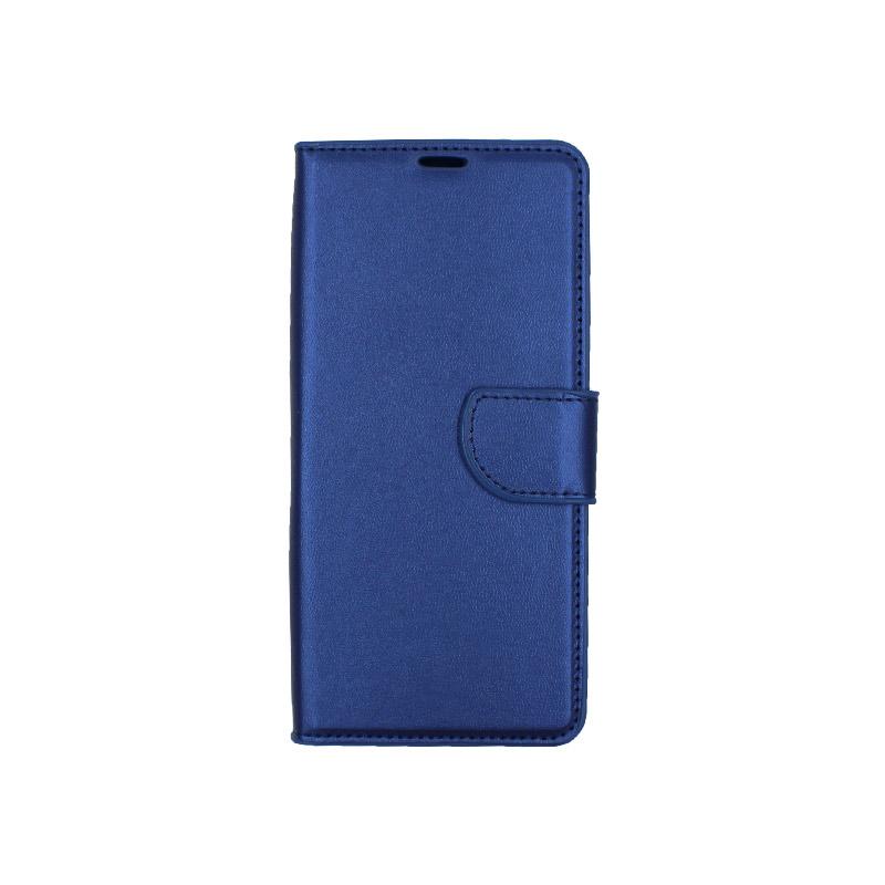 Θήκη Samsung Galaxy S10 Plus πορτοφόλι μπλε 1