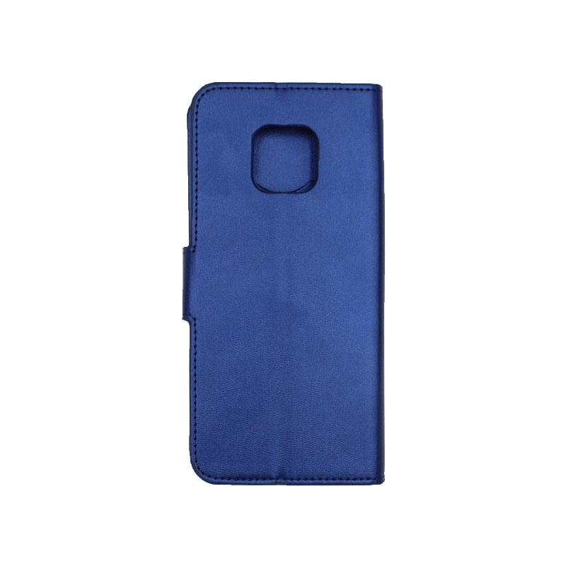 Θήκη Huawei Mate 20 Pro πορτοφόλι μπλε 2
