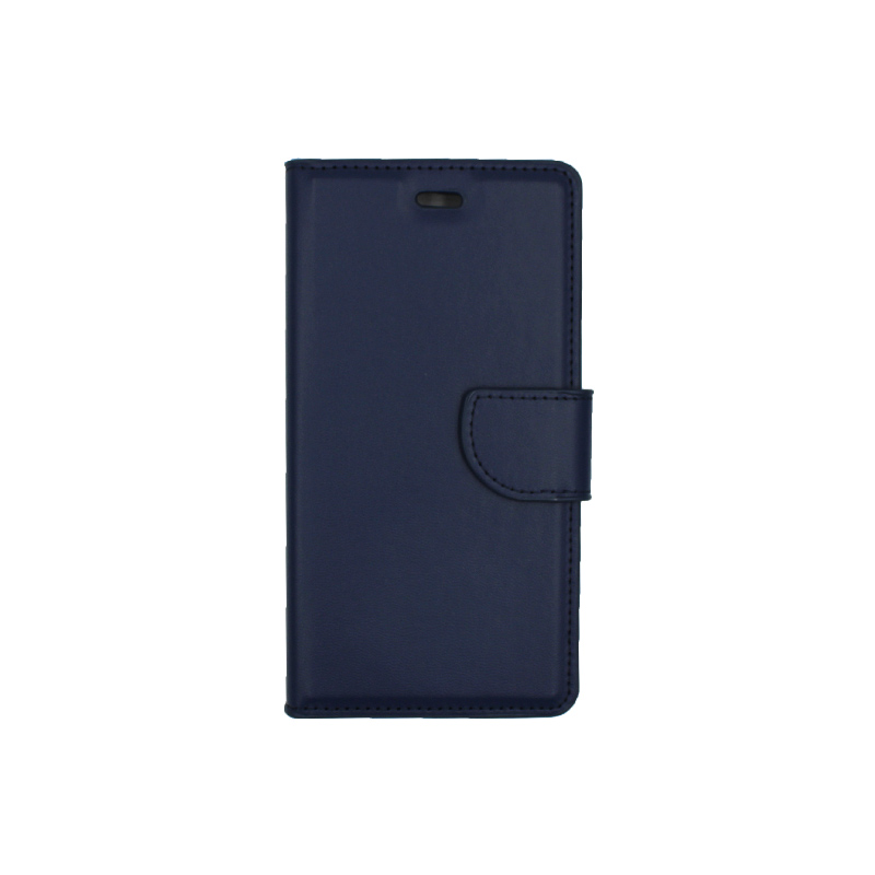 Θήκη Huawei P9 πορτοφόλι σκούρο μπλε 1