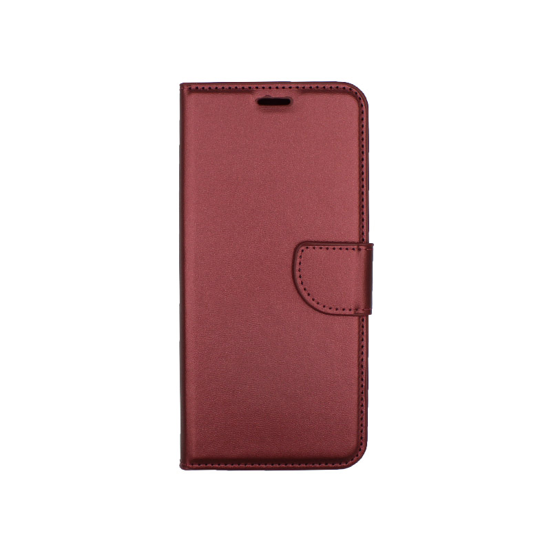 Θήκη Xiaomi Redmi Note 7 / 7 Pro πορτοφόλι μπορντό 1