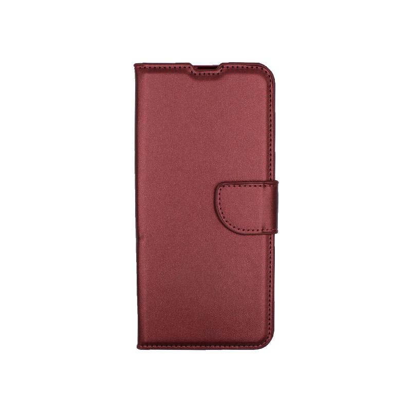 Θήκη Xiaomi Mi Note 10 / Note 10 Pro / CC9 Pro πορτοφόλι μπορντό 1