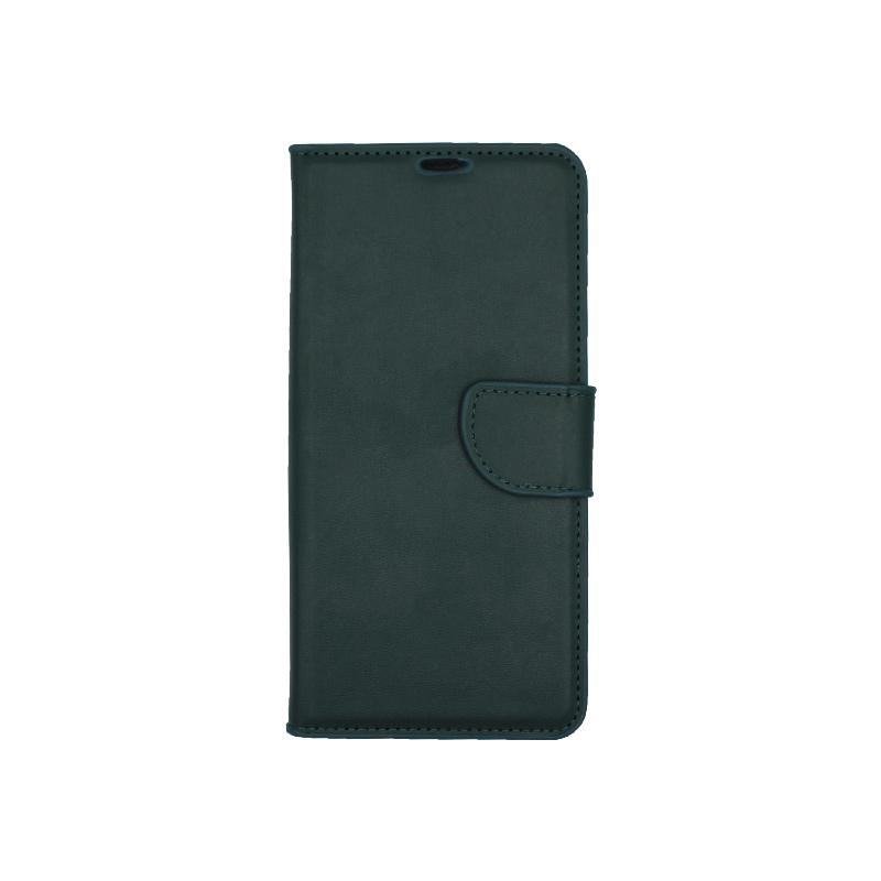 Θήκη Huawei P30 Pro πορτοφόλι πράσινο 1