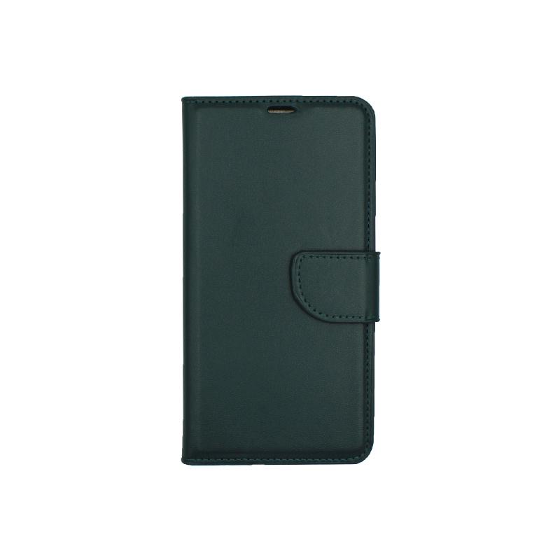 Θήκη Huawei P20 Pro πορτοφόλι πράσινο 1