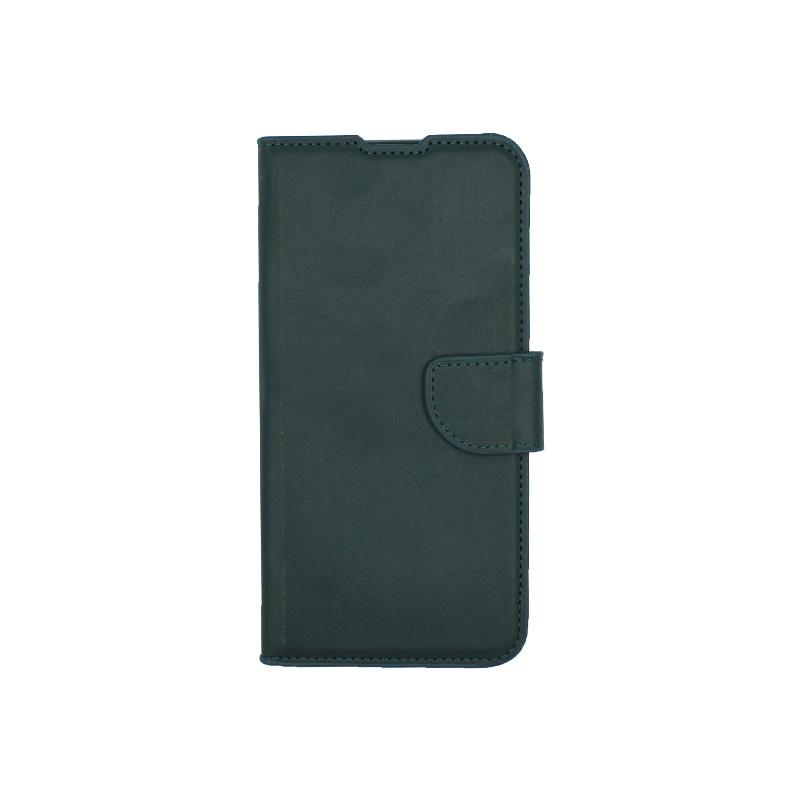 Θήκη Xiaomi Redmi 7 πορτοφόλι πράσινο 1