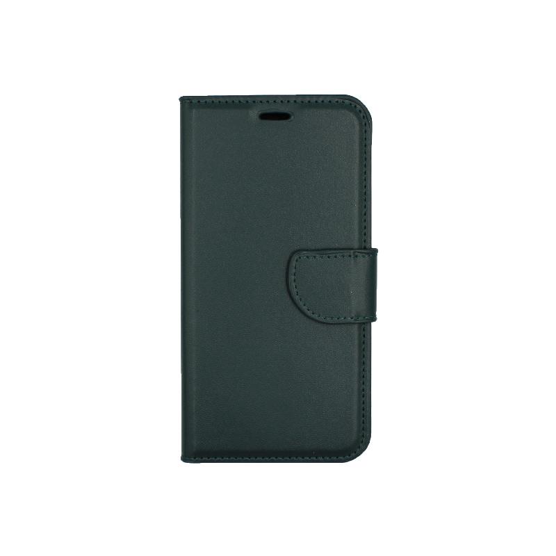 Θήκη Xiaomi Redmi 6 πορτοφόλι πράσινο 1