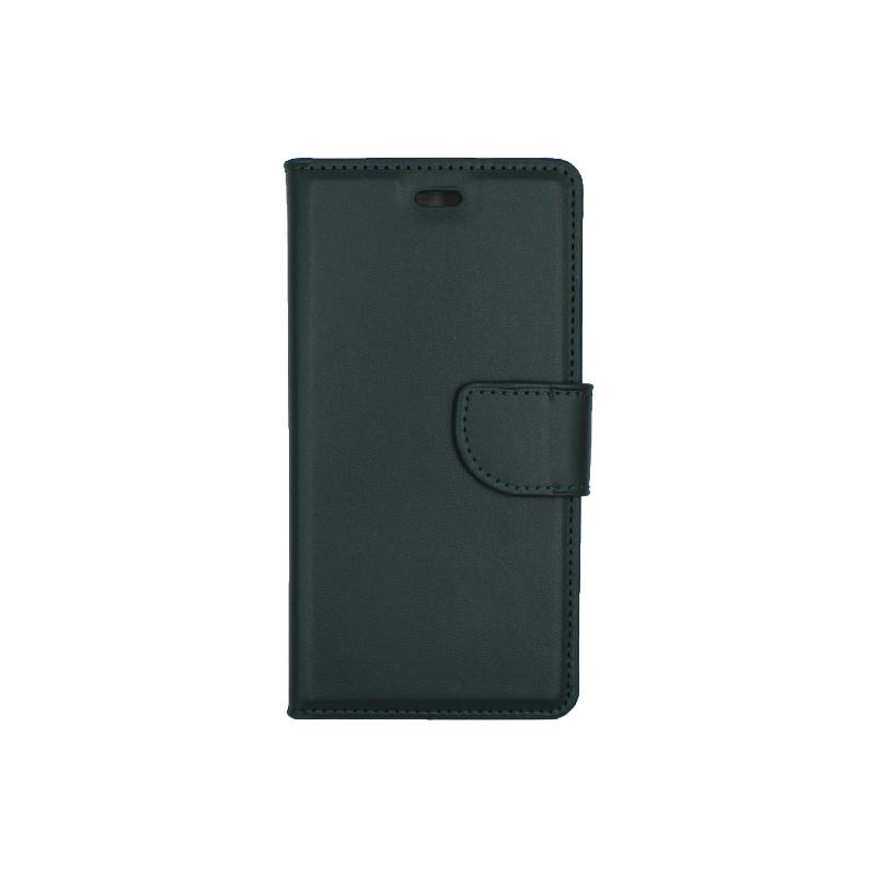 Θήκη Huawei P9 πορτοφόλι πράσινο 1