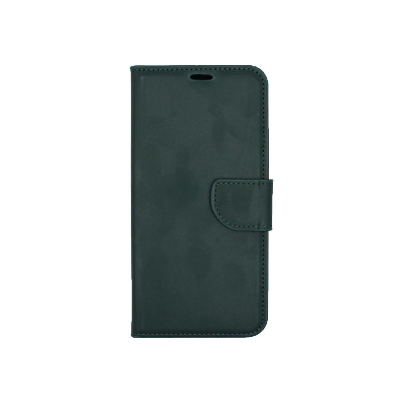 Θήκη Huawei Mate 20 Lite πορτοφόλι πράσινο 1