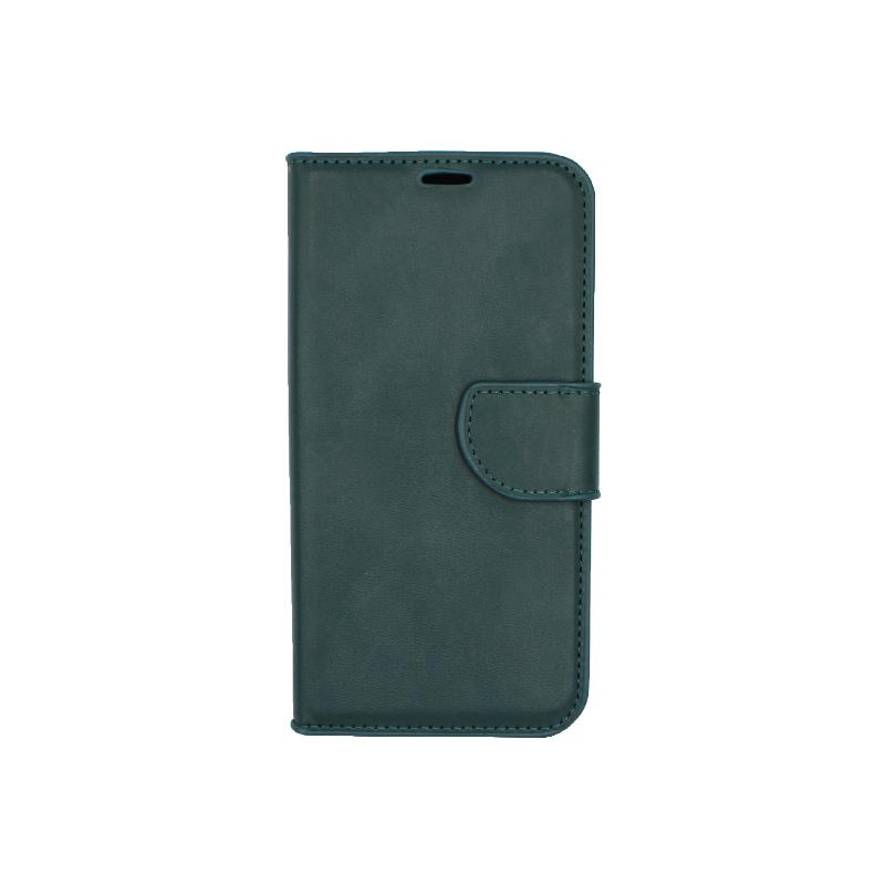 Θήκη Huawei Y5 2018 πορτοφόλι πράσινο 1