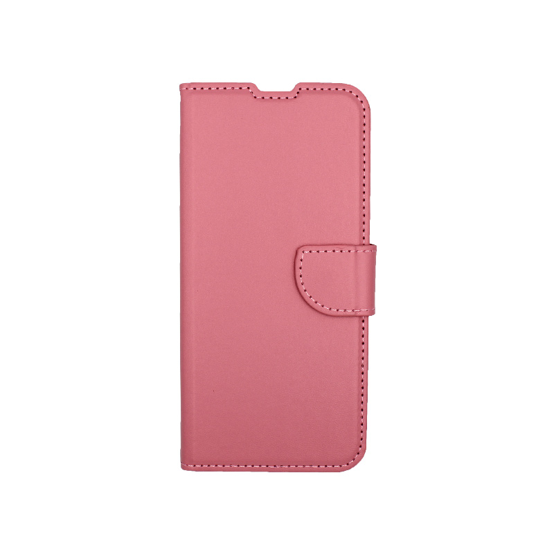 Θήκη Huawei P Smart Pro πορτοφόλι ροζ 1