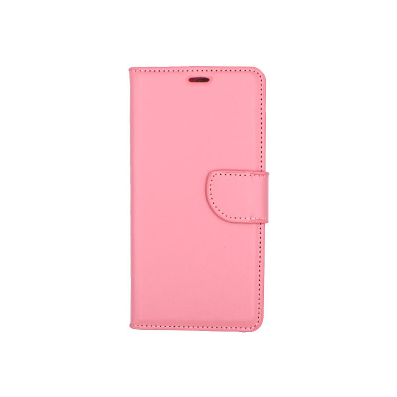 Θήκη Huawei Y6 2018 πορτοφόλι ροζ 1