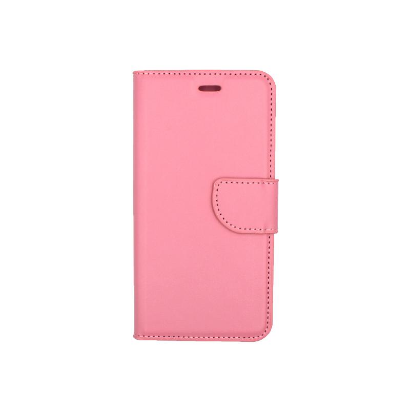 Θήκη Huawei P10 Lite πορτοφόλι ροζ 1