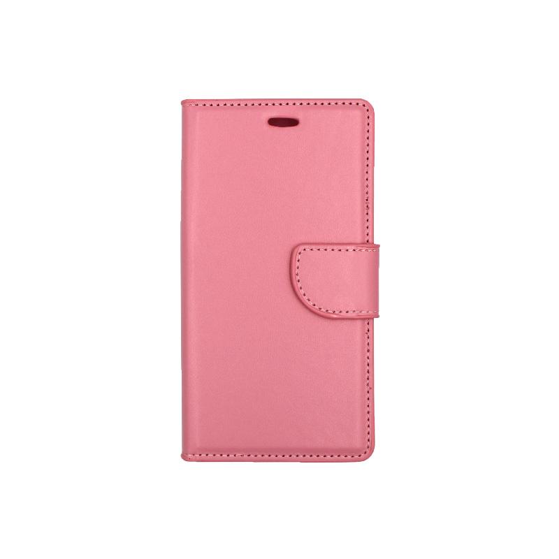 Θήκη Huawei P8 Lite πορτοφόλι ροζ 1