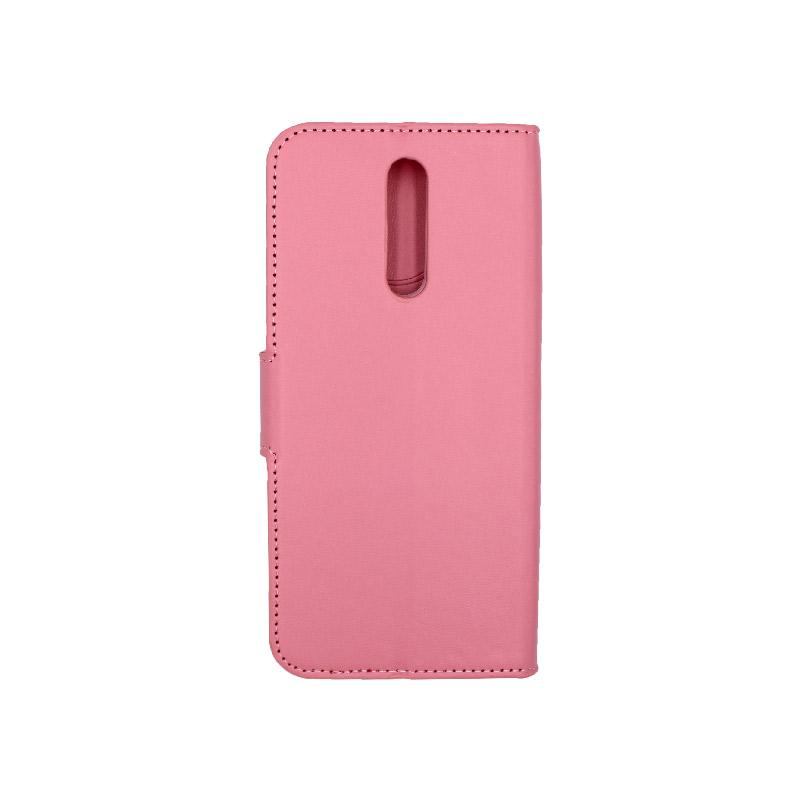 Θήκη Xiaomi Redmi 8 πορτοφόλι ροζ 2