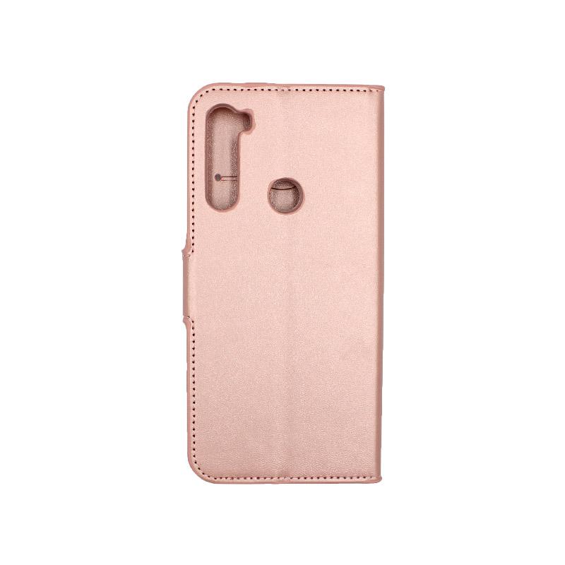 Θήκη Xiaomi Redmi Note 8 πορτοφόλι ροζ 2