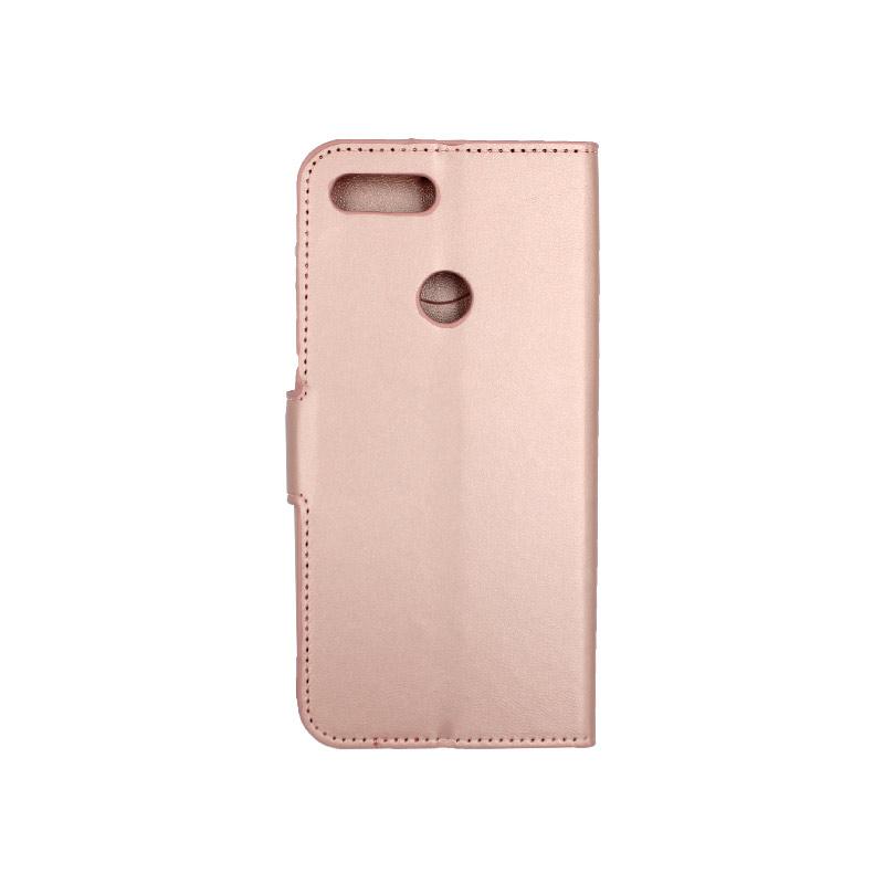 θήκη xiaomi Mi 8 Lite πορτοφόλι με κράτημα ροζ 2