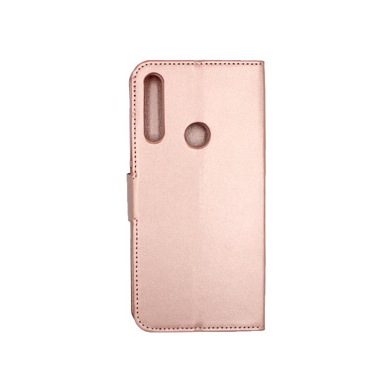 Θήκη Huawei P Smart Z πορτοφόλι ροζ 2