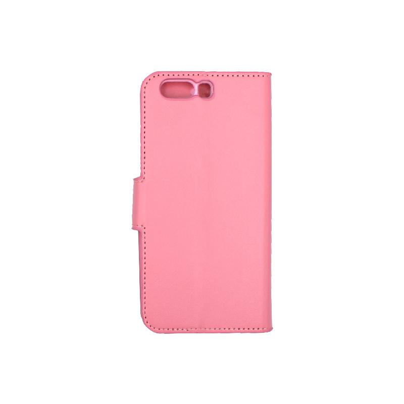 Θήκη Huawei P10 πορτοφόλι ροζ 2