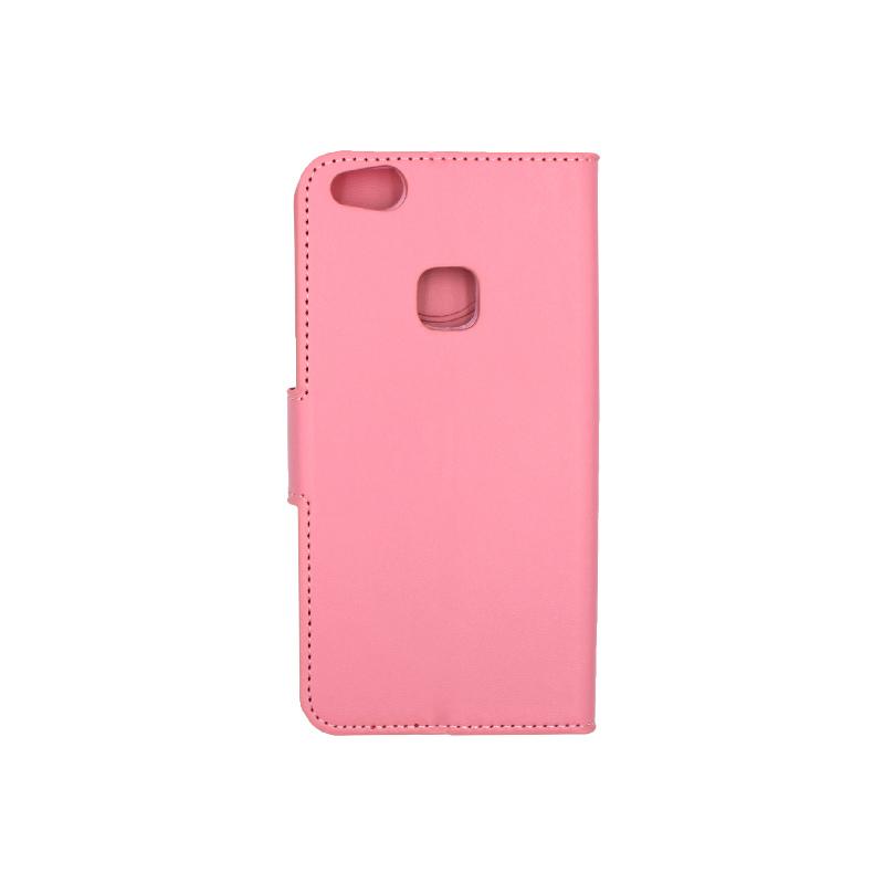 Θήκη Huawei P10 Lite πορτοφόλι ροζ 2