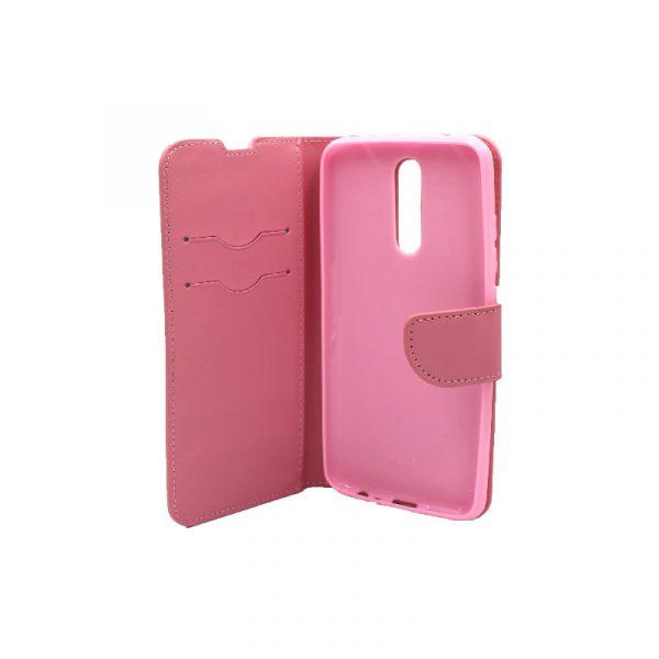 Θήκη Xiaomi Redmi 8 πορτοφόλι ροζ 3