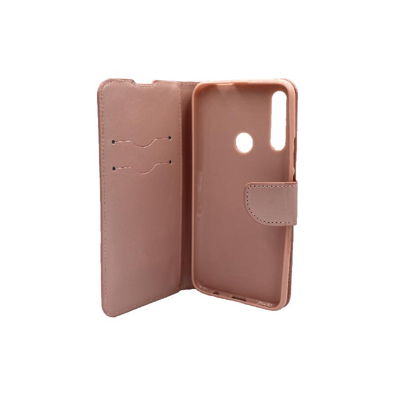 Θήκη Huawei P Smart Z πορτοφόλι ροζ 3
