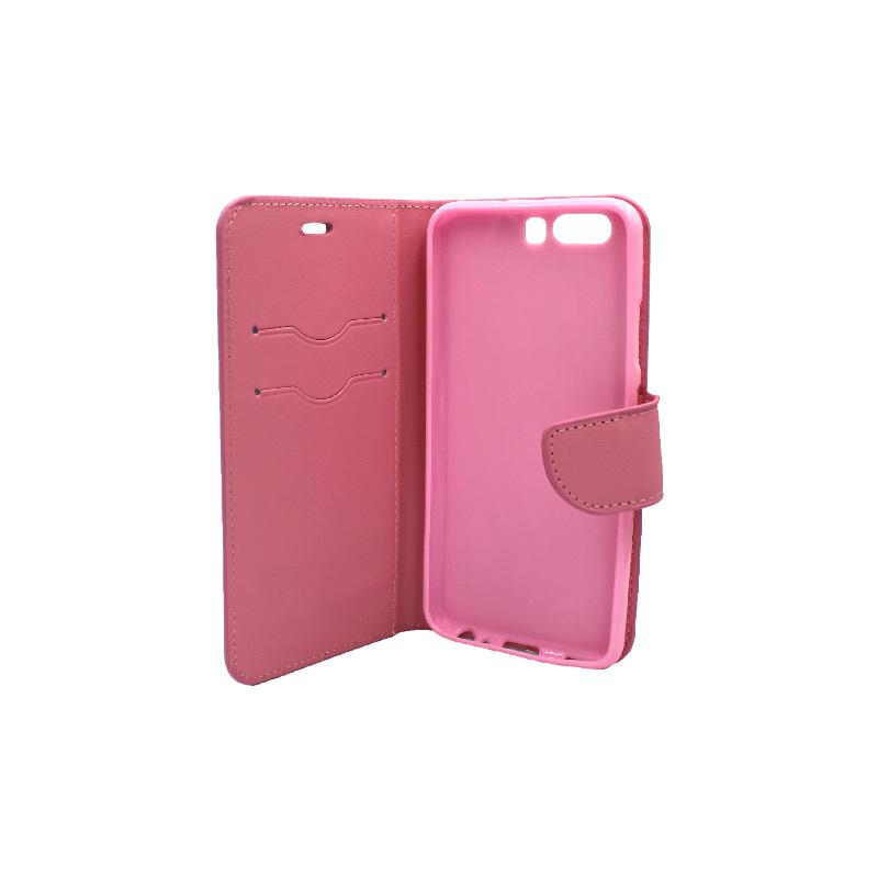 Θήκη Huawei P10 πορτοφόλι ροζ 3