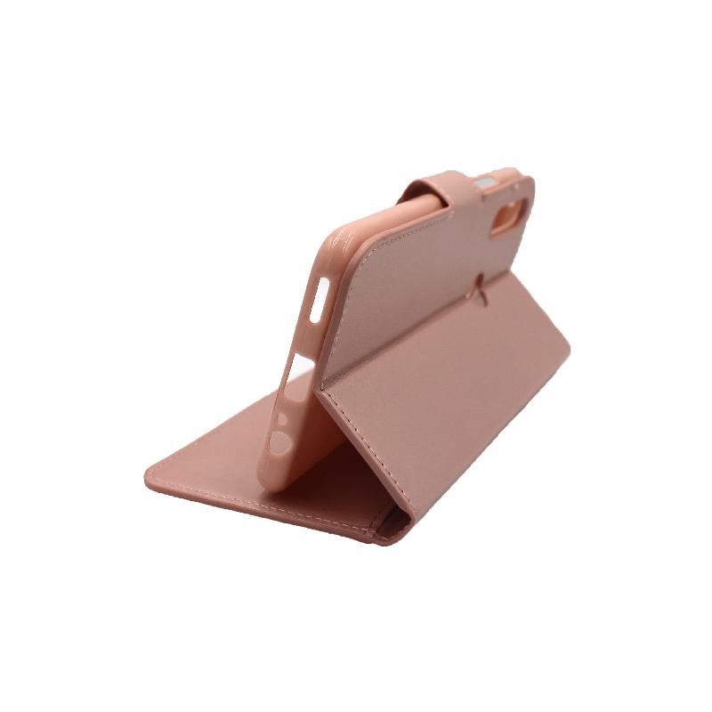 Θήκη Huawei P Smart Z πορτοφόλι ροζ 4
