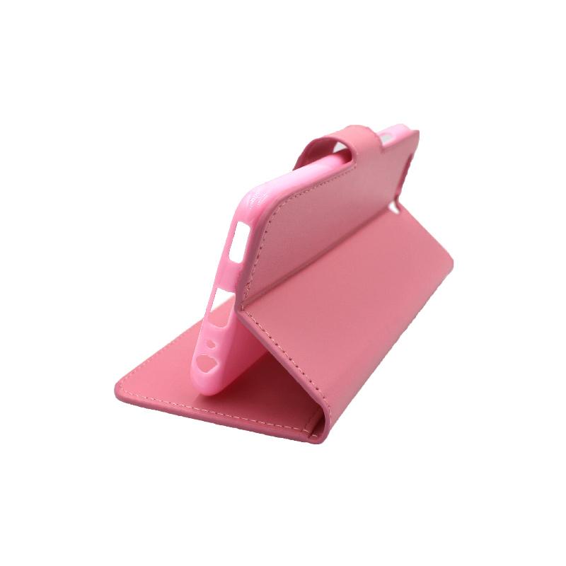 Θήκη Huawei P10 πορτοφόλι ροζ 4