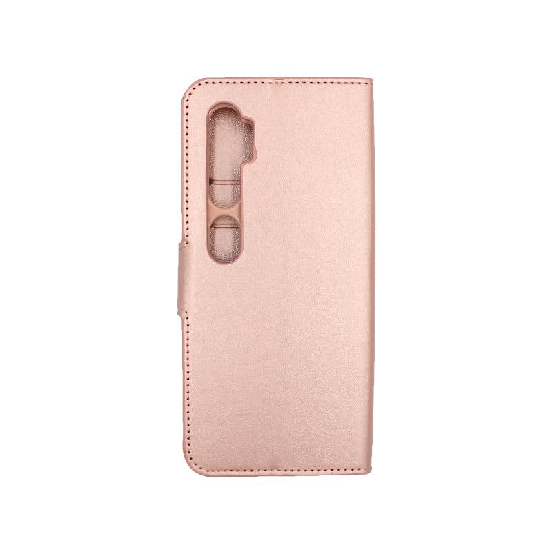 Θήκη Xiaomi Mi Note 10 / Note 10 Pro / CC9 Pro πορτοφόλι απαλό ροζ 2