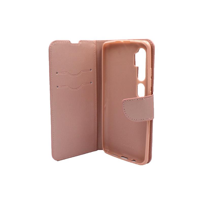 Θήκη Xiaomi Mi Note 10 / Note 10 Pro / CC9 Pro πορτοφόλι απαλό ροζ 3