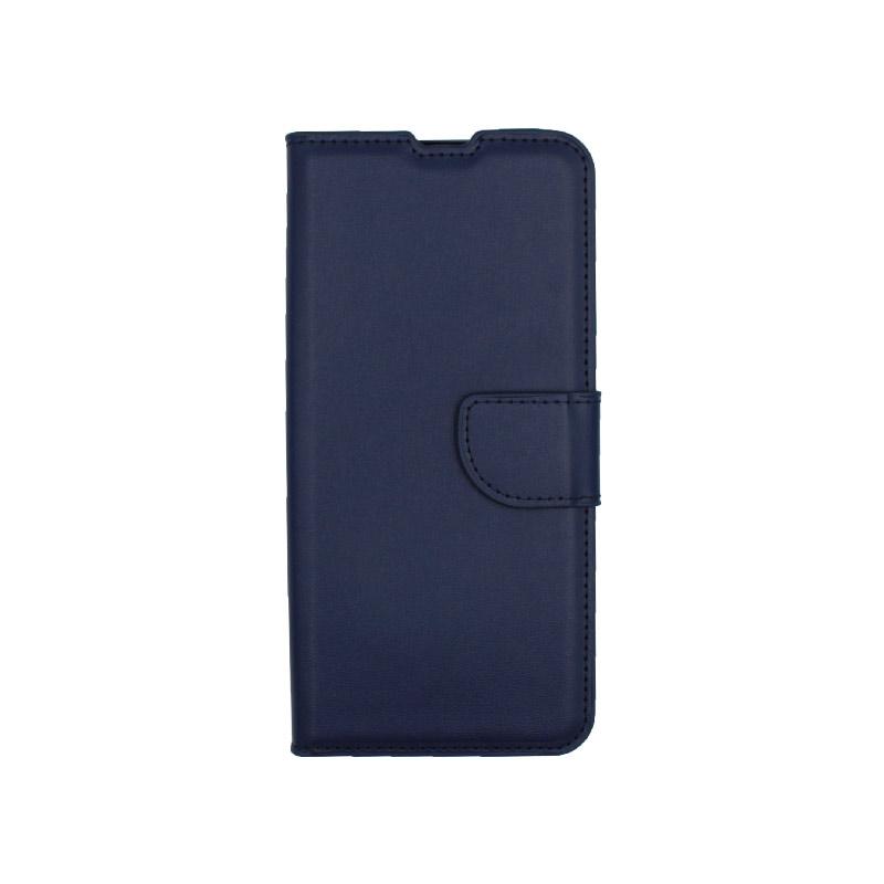 Θήκη Xiaomi Mi Note 10 / Note 10 Pro / CC9 Pro πορτοφόλι σκούρο μπλε 1