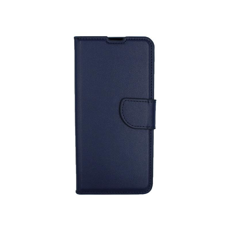 Θήκη Xiaomi Mi 9T / K20 / K20 Pro 9 πορτοφόλι σκούρο μπλε 1