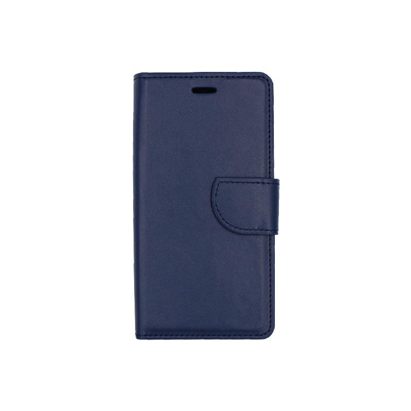 Θήκη Xiaomi Redmi 5A πορτοφόλι σκούρο μπλε 1