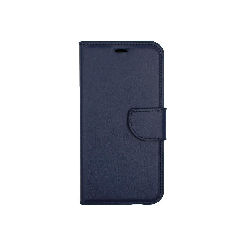 Θήκη Xiaomi Redmi 6 πορτοφόλι σκούρο μπλε 1