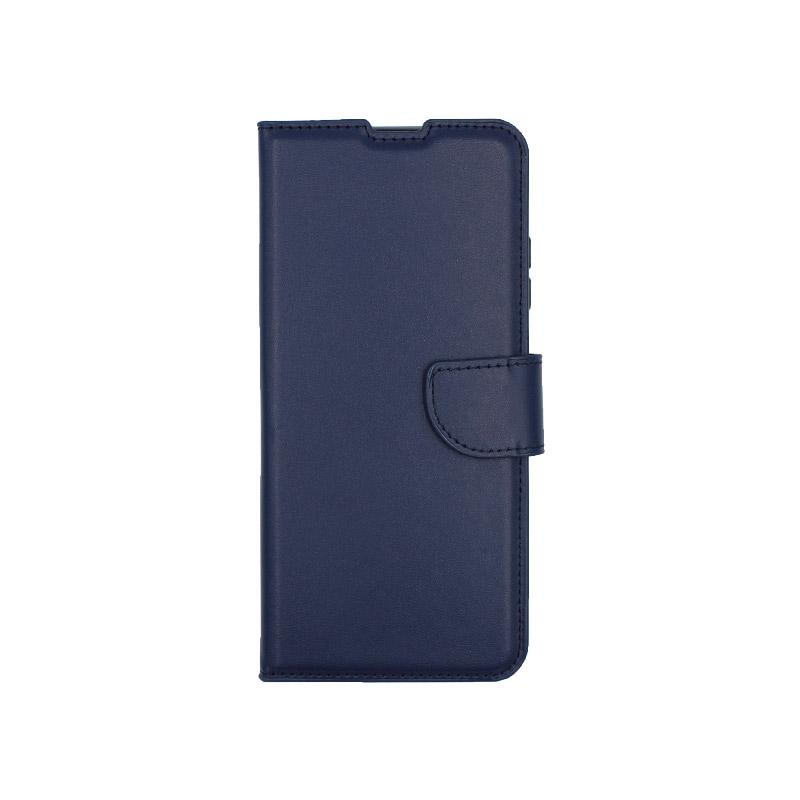 θήκη Xiaomi K30- K30 5G πορτοφόλι με κράτημα σκούρο μπλε 1