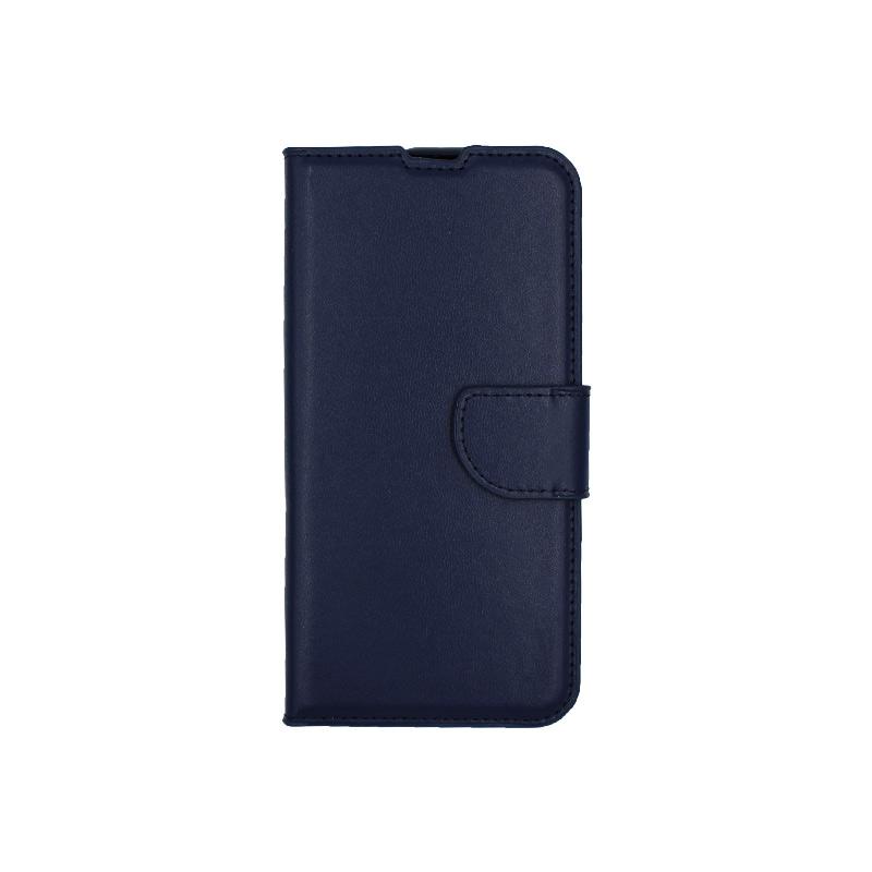 Θήκη Huawei P Smart 2019 πορτοφόλι μπλε 1