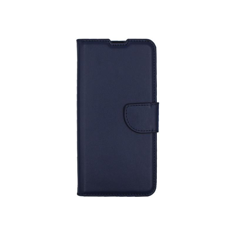 Θήκη Huawei P Smart 2020 πορτοφόλι μπλε 1