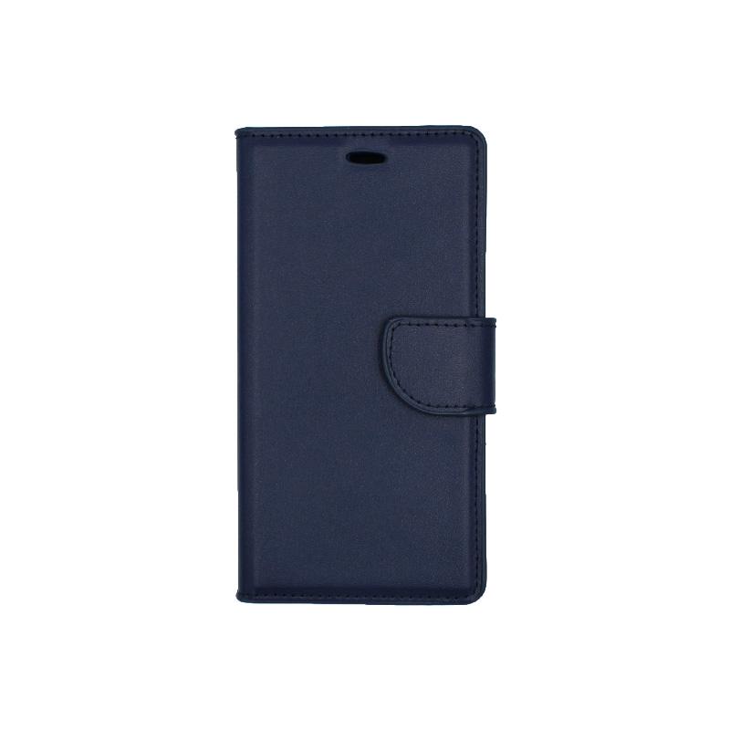 Θήκη Huawei P8 Lite πορτοφόλι μπλε 1